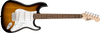 Squier Stratocaster Pack SSS Brown Sunburst w/ Gig Bag and Frontman 10G