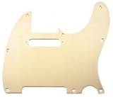Fender Pickguard, Telecaster, 8-Hole Mount, Gold-Plated, 1-Ply