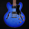 Epiphone Dot Deluxe Semi-Hollowbody, Blueberry Burst 058 8lbs 2.6oz