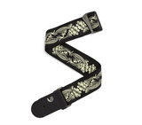 Planet Waves 50A04 Woven Guitar Strap, 50mm, Rainforest