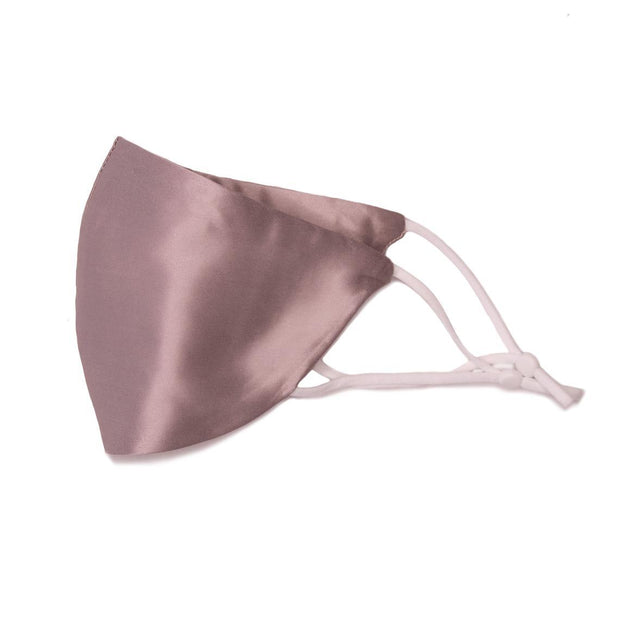 Fashion Luxury 100% Mulberry Silk Face Mask, Premium Quality - Taro fashionfacemask-uae.com