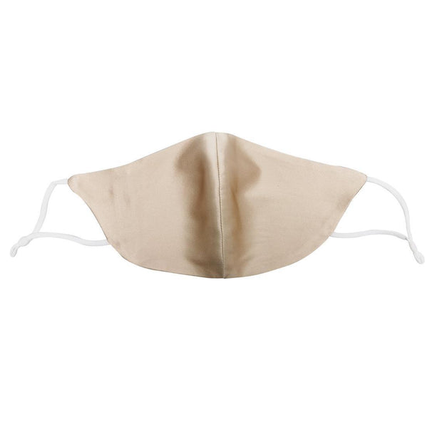 Mulberry Silk Face Mask with Nose Wire, 4 Layers, Breathable with Filter Pocket silkdelux.com