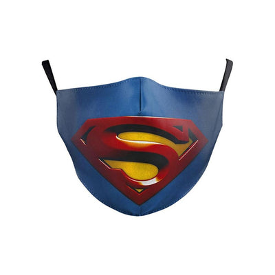 Superman Kids Mask With Carbon Filter - Ultra-Comfortable, Reusable, Portable, Foldable Lightweight fashionfacemask-uae.com