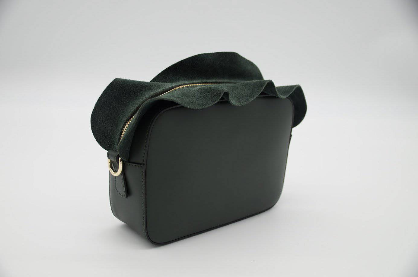 Italian Leather Shoulder bag - Benzie Gifts
