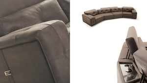 Lounge Leather Luxury Sofa - Benzie Gifts