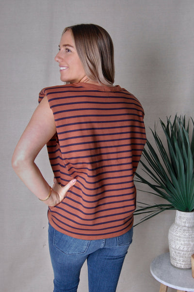 Gigi Striped Top