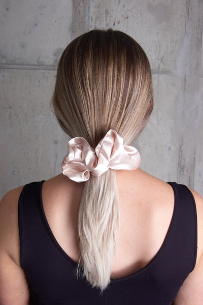 Oversized Satin Scrunchie