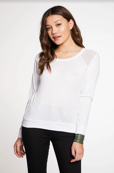 Gauzy Cotton Tee