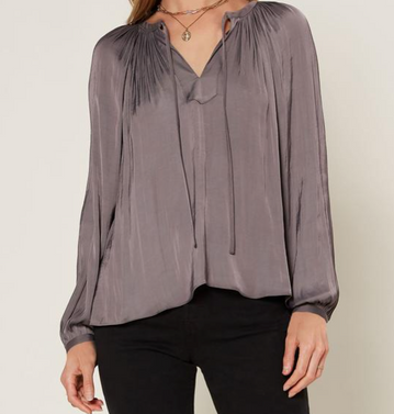 Lovely Tie Blouse