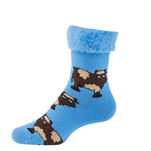 COW BED SOCKS