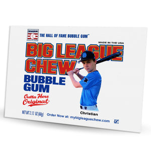 Personalized Big League Chew - 12-Mini Posters
