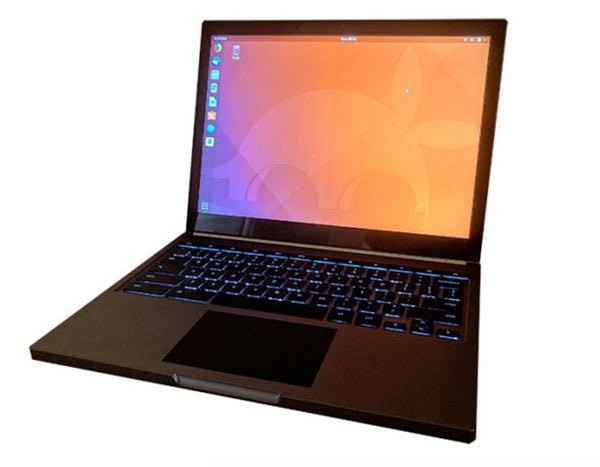 STH Article: Google Chromebook Pixel Running Ubuntu 18.04 Bionic Beaver