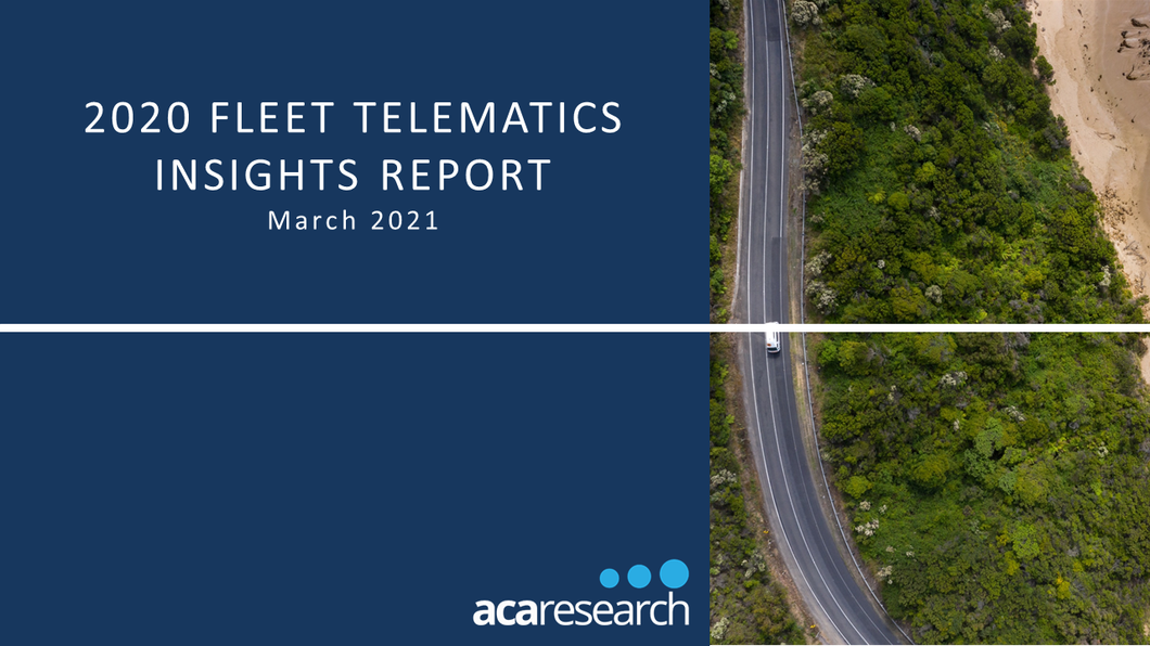 Australian Corporate Fleet Telematics Insights: Second Edition (2020)
