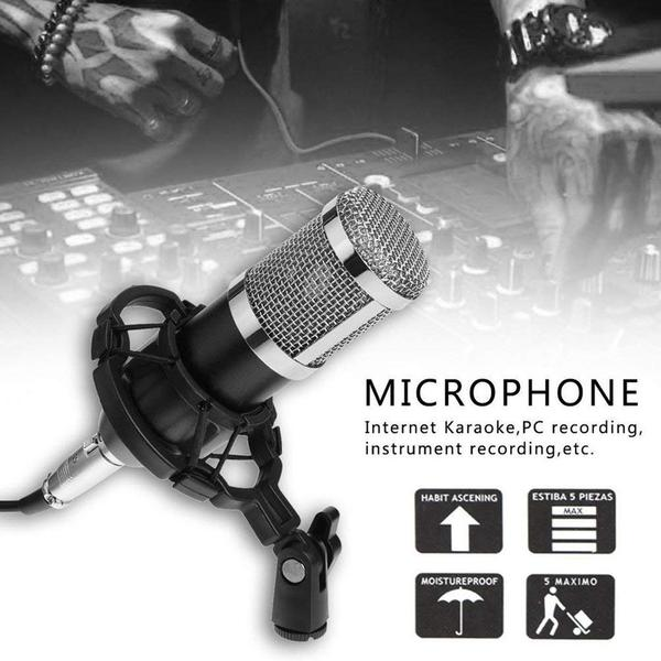 RECORDING RODE MICROPHONE - USB STUDIO MICROPHONE - BROADCAST RECORDER MIC