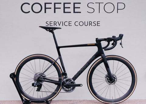 Cannondale Supersix Evo Himod Matt Black - 56 - Sram Red Etap AXS - Black inc 50 Carbon hjul - Quarq Powermeter
