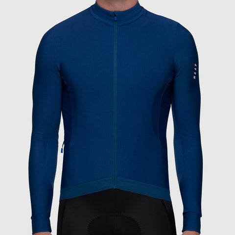 MAAP Force Pro LS Jersey Navy