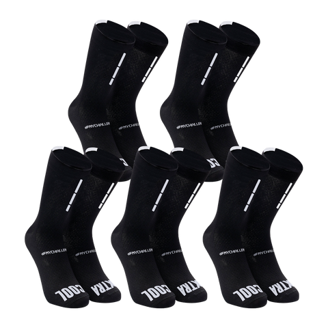 FUTURUM Socks meryl skinlife extra cool 5 pack sort