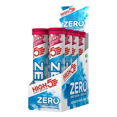 High5 Zero Tabs Sports Drink 1 kasse m. 8 rør.