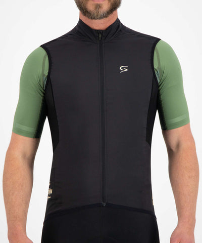 FUTURUM Proformance Windvest Superlight Merino sort