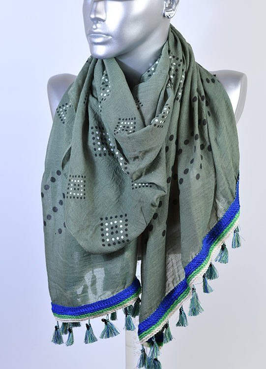 Cotton Scarf-71733
