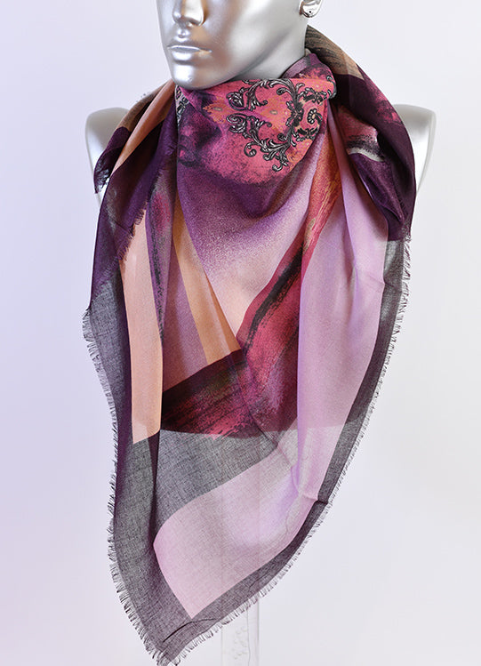 Cotton scarf -81134