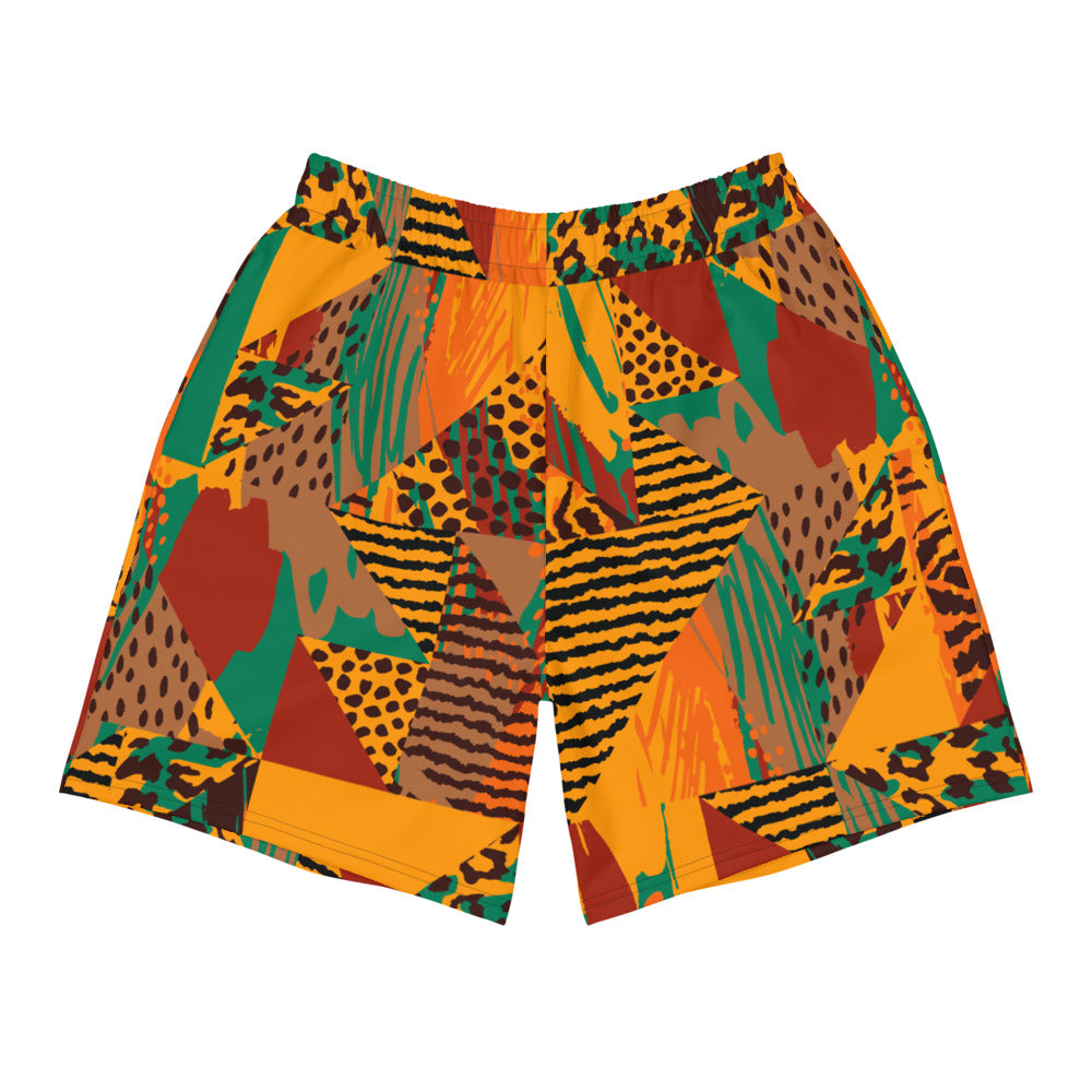 African Tribal Art Gym Shorts