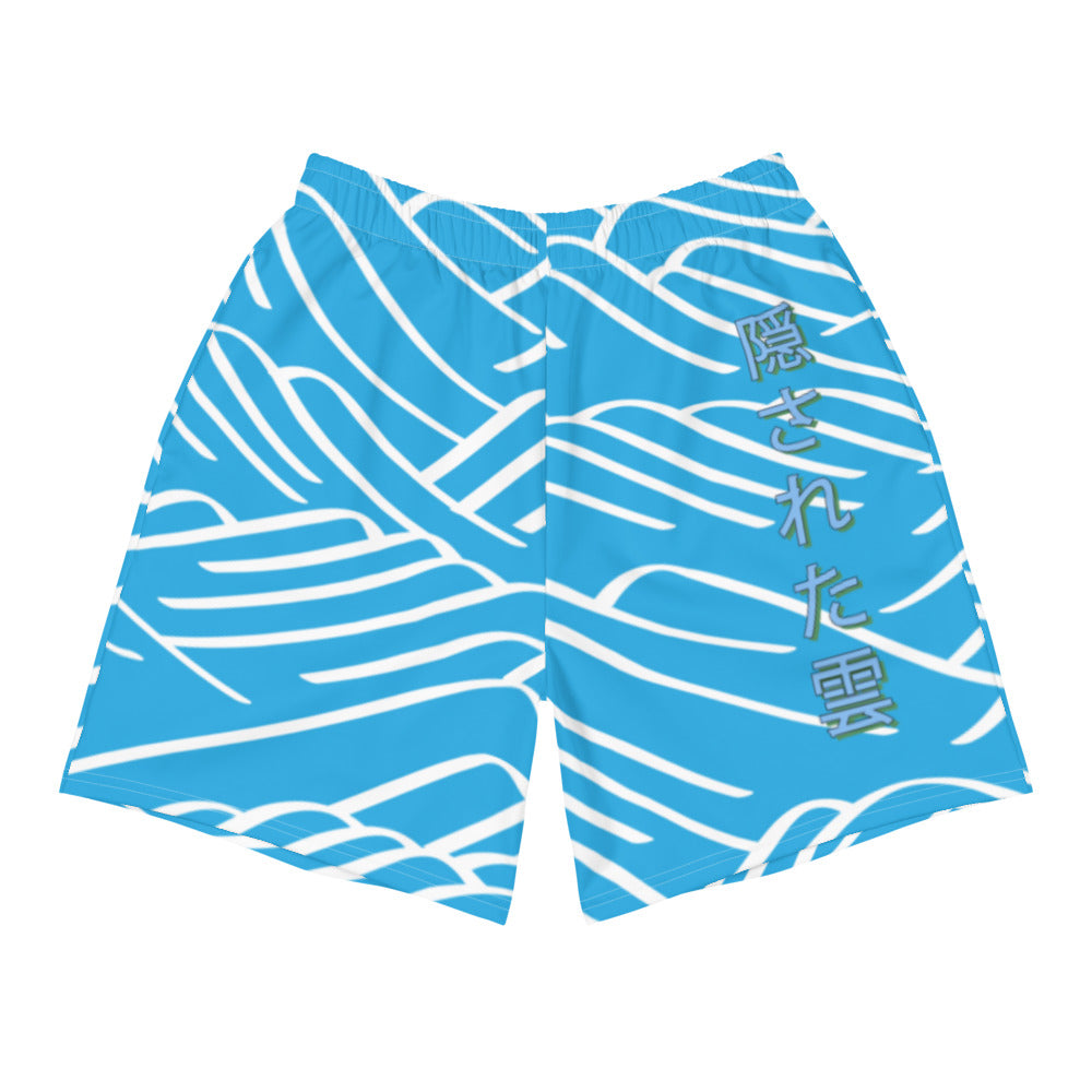 Japanese Teal Mountian Long Shorts