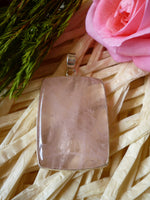 Large Rose Quartz Pendant