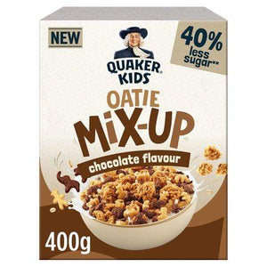 Quaker Kids Oatie Mix Up Chocolate Cereal