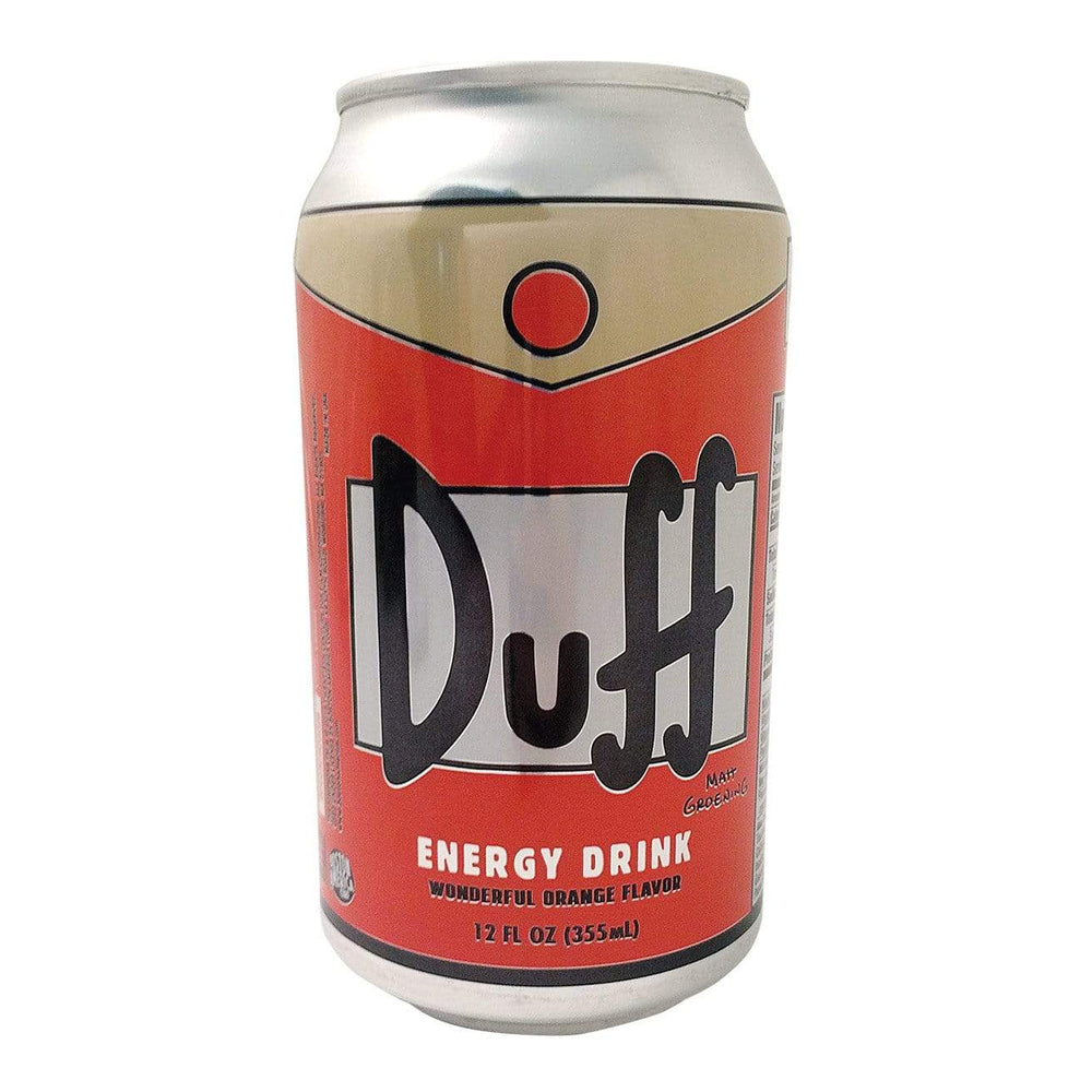 The Simpsons Duff Energy Drink Case of 12