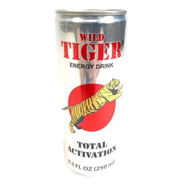 Energy Drinks Wild Tiger Energy Drink Case of 24 FindyourCereal.com