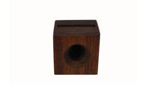 Load image into Gallery viewer, Phone AMP a hand made all wooden speaker for your cell phone Perfect for camping, picnics