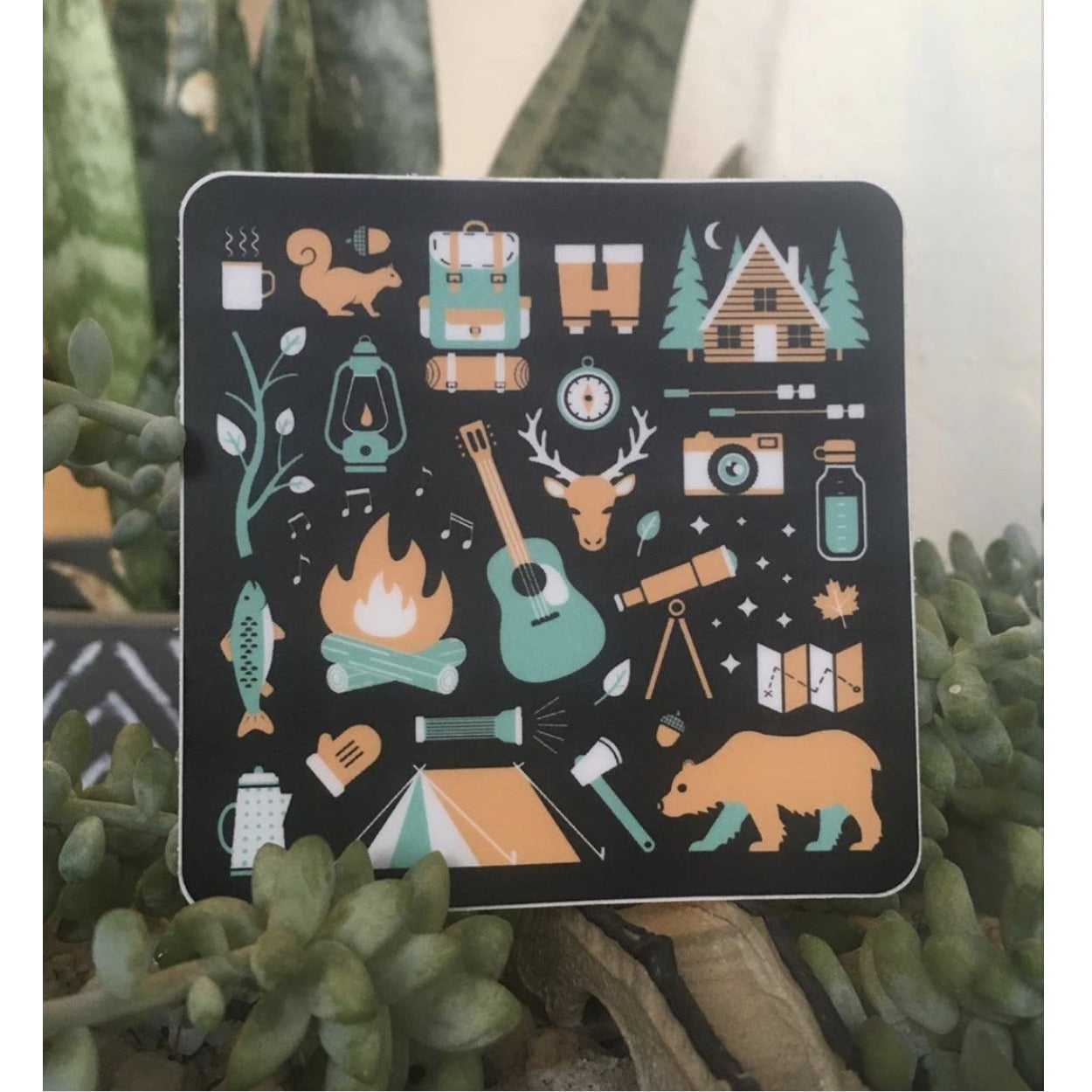 Outdoor Adventure sticker