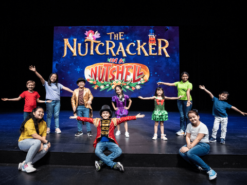 Nutcracker in a Nutshell 5-Half-Day Workshop (10-12 years)