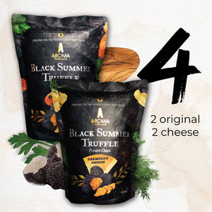 Aroma Truffle Chips - Bundle of 4 (Original/Parmesan Cheese)