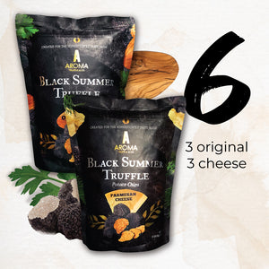 Aroma Truffle Chips - Bundle of 6 (Original/Cheese)