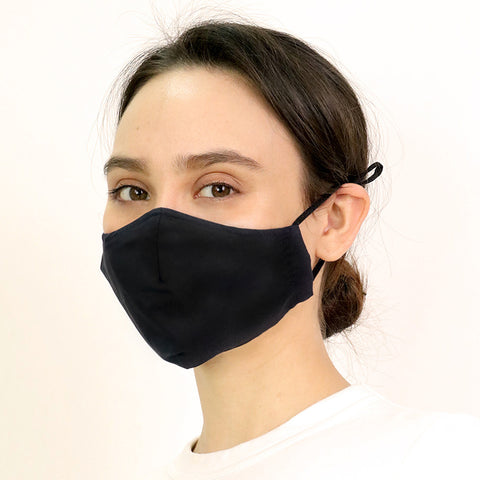 Black Antimicrobial Face Mask - CYC x Liberty London
