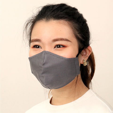 Charcoal Antimicrobial Face Mask - CYC x Liberty London