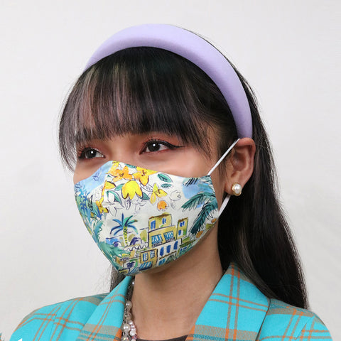 Cape Vista Antimicrobial Face Mask - CYC x Liberty London