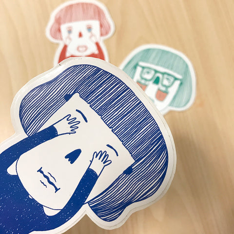 Can you feel me?' stickers <就是這樣咯>貼紙