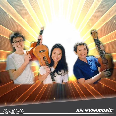 Music Making in the City (Christian Songs) - Ukulele