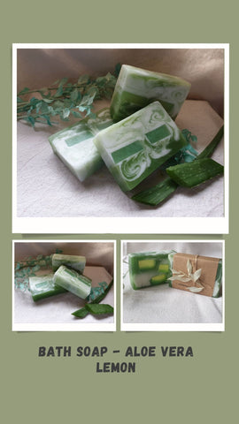 Bath Soap - Aloe Vera Lemon