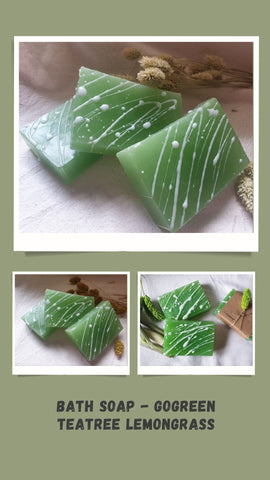 Bath Soap - Gogreen Teatree Lemongrass