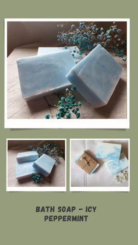 Bath Soap - Icy Peppermint