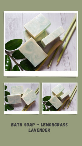 Bath Soap - Lemongrass Lavender