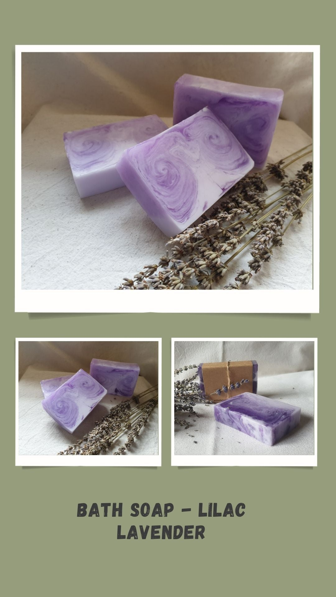 Bath Soap - Lilac Lavender
