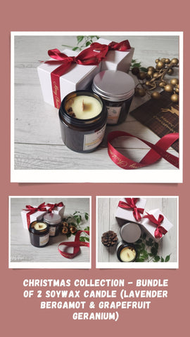 Bundle of 2 Soywax Candles