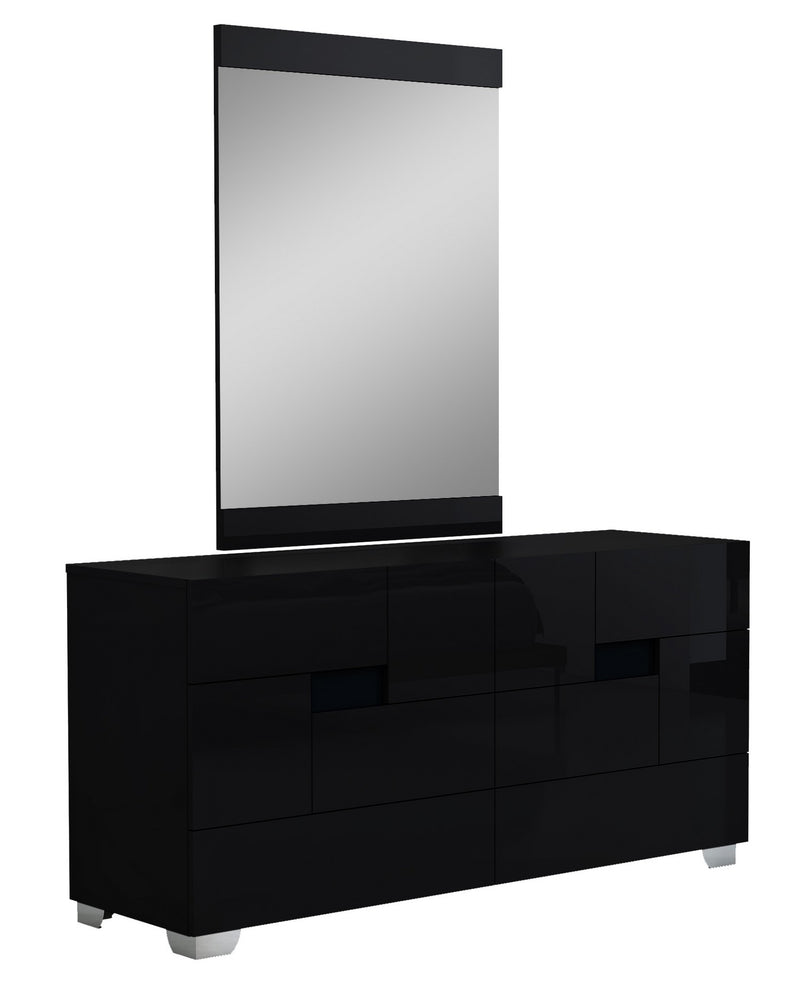 "30"" Superb Black High Gloss Dresser"