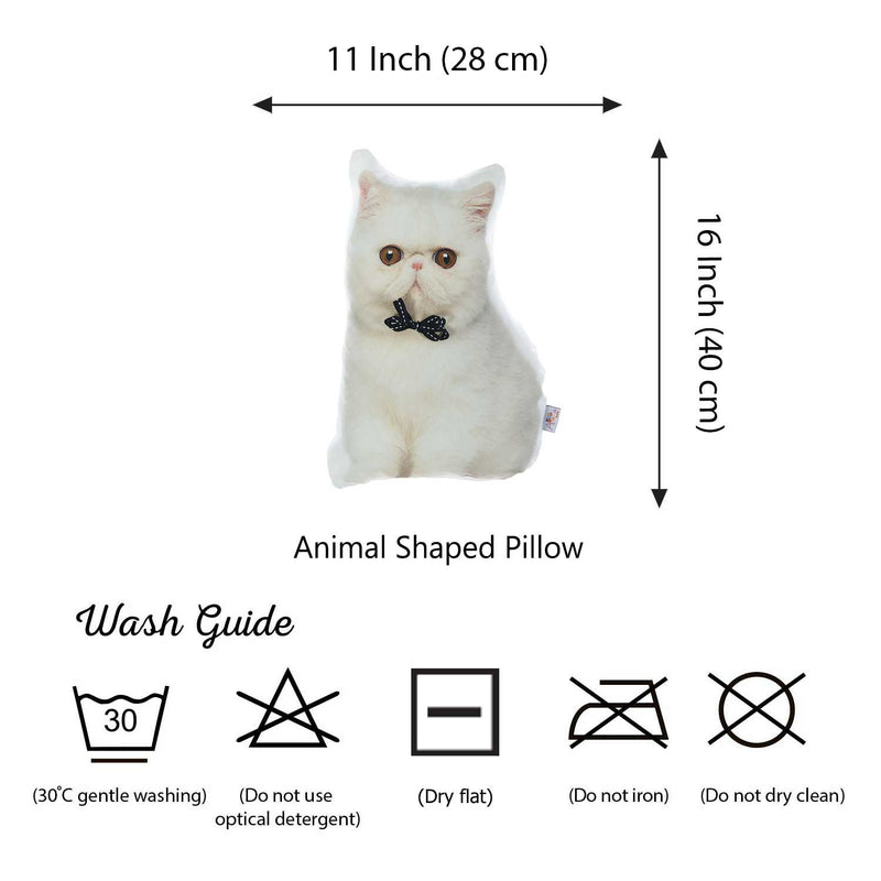 Persian Cat Shape Filled Pillow Animal Shaped Pillow