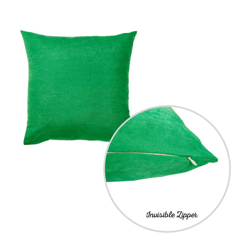 Set of 2 Kelly Green Decorative Throw Pillow Covers - RichRange | The Best Deals Online: Furniture, Home Decor & More